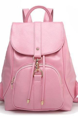Nice Pink Beam Port College Backpack