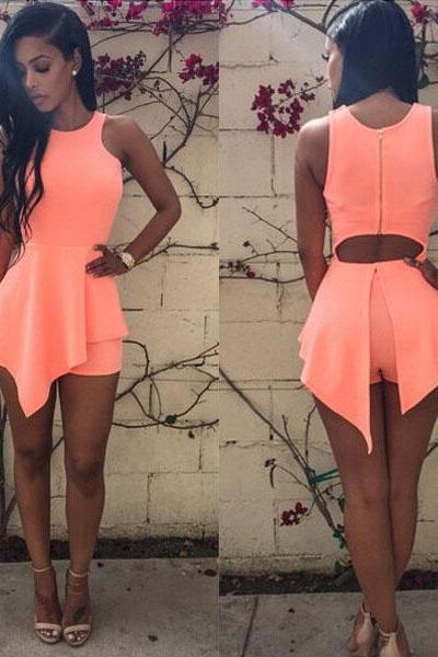 Sexy Women Summer Beach Sleeveless Bodycon Casual Party Evening Short/Mini Dress