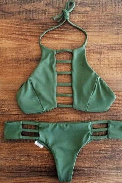 Sexy hollow-out swimsuit bikini