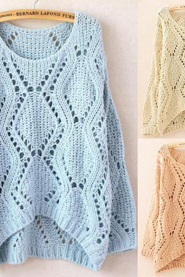 Hollow Sweater A
