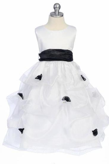 2015 new marrylove Organza Girls Princess Skirt Dress white Flower Girl Dress Costumes Children Children's Wear Skirt Dress Dress Skirt