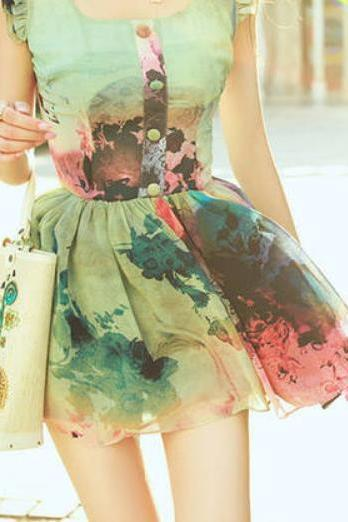 HOT COLORFUL CLASSY DRESS