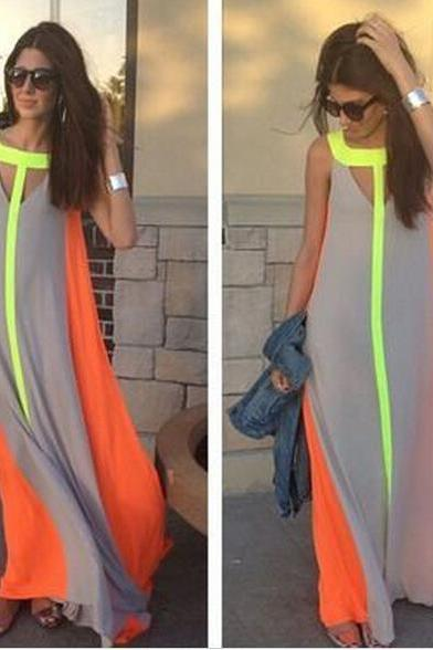 HOT CHIFFON LONG DRESS