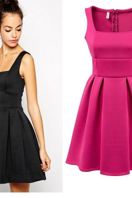 2015 new fashion Europe And The New Women Big Swing Dress