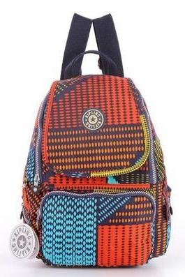 Travel Backpack Waterproof Nylon Shoulder Bag Handbag --Plaid