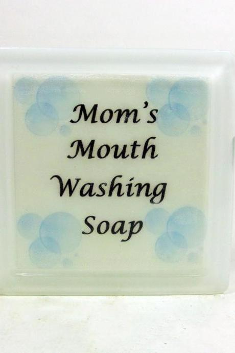 Mom's Mouth Washing Soap - Humurous Gift
