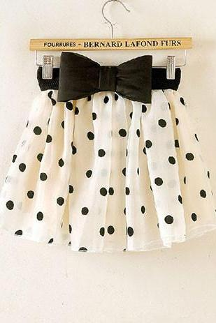 Bowknot Bubble Skirt