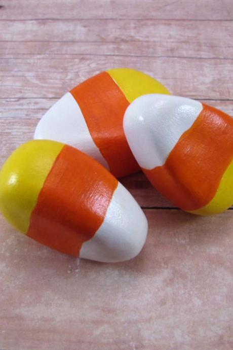 Candy Corn Halloween Decoration Bowl Filler Made to Order