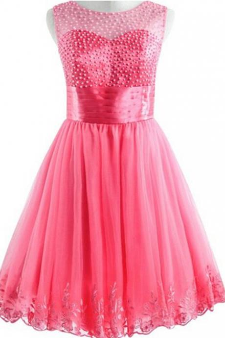Beading and Lace Homecoming Dresses,A-Line Graduation Dresses,Homecoming Dress,Short/Mini Homecoming Dress