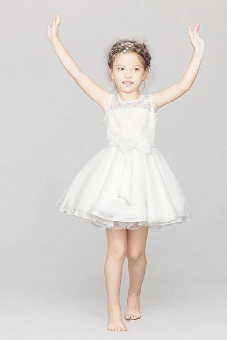 2015 new marrylove Girls lace Skirt Dress Wedding Flower Girl Dress Costumes Children Children's Wear Skirt Dress Dress