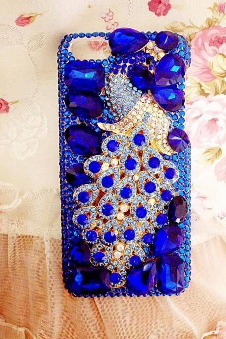 Peacock Bling iPhone 7 Plus, iPhone 6 6s case, iPhone 6 6s Plus case, iPhone 5s SE case, iPhone 5c case, bling wallet case for samsung galaxy note 4 note 5 s7 edge s6 edge s5