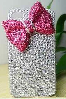 Bowknot Bling iPhone 7 Plus, iPhone 6 6s case, iPhone 6 6s Plus case, iPhone 5s SE case, iPhone 5c case, bling wallet case for samsung galaxy note 4 note 5 s7 edge s6 edge s5