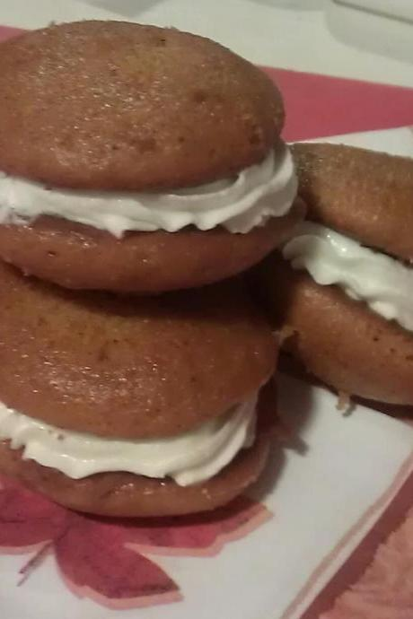 15 Homemade Pumpkin Spice Whoopie Pies (Limited Time)