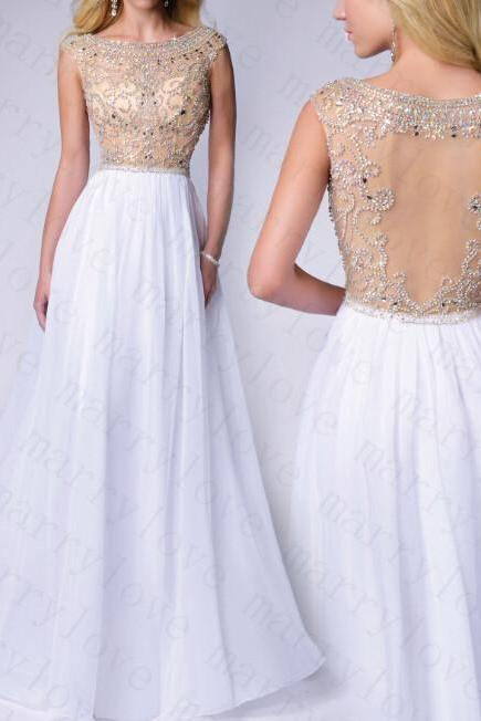 Promdresses 2015 new Super sexy style chiffon tulle homecoming dress rhinestone custom Bridesmaid dresses party dress
