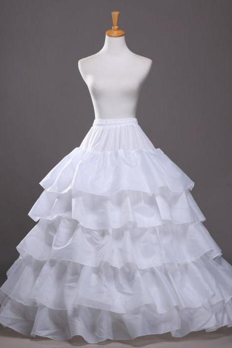 High Quality Underskirt With Ruffles For Wedding Dress Bridal Gown Petticoat