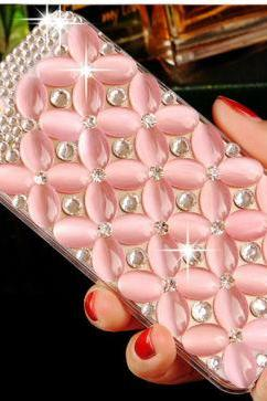 Fashion bling phone cases in pink, Bling iPhone 7 Plus, iPhone 6 6s case, iPhone 6 6s Plus case, iPhone 5s SE case, iPhone 5c case, bling wallet case for samsung galaxy note 4 note 5 s7 edge s6 edge s5