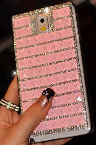 Pink Bling iPhone 7 Plus, iPhone 6 6s case, iPhone 6 6s Plus case, iPhone 5s SE case, iPhone 5c case, bling wallet case for samsung galaxy note 4 note 5 s7 edge s6 edge s5