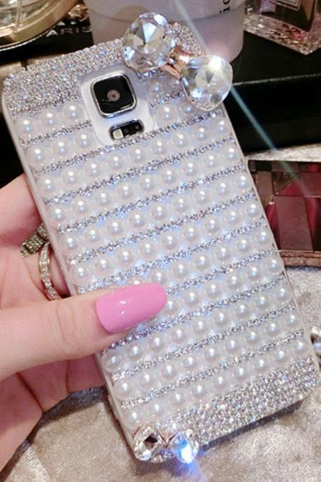 Bowknot lovely Bling iPhone 7 Plus, iPhone 6 6s case, iPhone 6 6s Plus case, iPhone 5s SE case, iPhone 5c case, bling wallet case for samsung galaxy note 4 note 5 s7 edge s6 edge s5