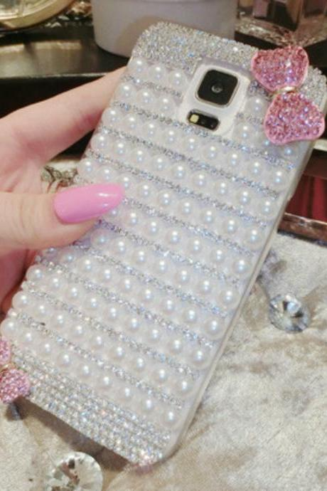 Bowknot cute bling iPhone 7 Plus, iPhone 6 6s case, iPhone 6 6s Plus case, iPhone 5s SE case, iPhone 5c case, bling wallet case for samsung galaxy note 4 note 5 s7 edge s6 edge s5