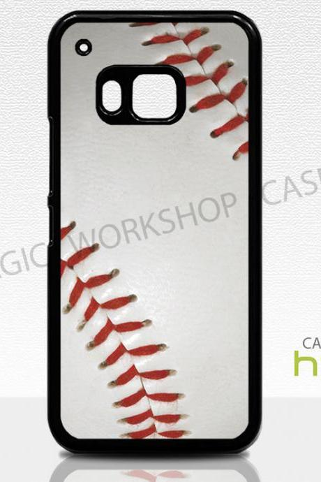 HTC One M8 M9 Case, Baseball