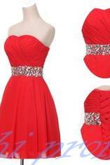 Red Homecoming Dress,Simple Homecoming Dresses,Cheap Homecoming Gowns,Short Prom Gown,Sweet 16 Dress,Cute Homecoming Dresses,Fitted Formal Dress