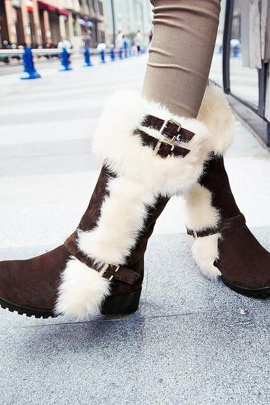 Fashionable joker ugg boots, warm ugg boots, boots, boots, knight
