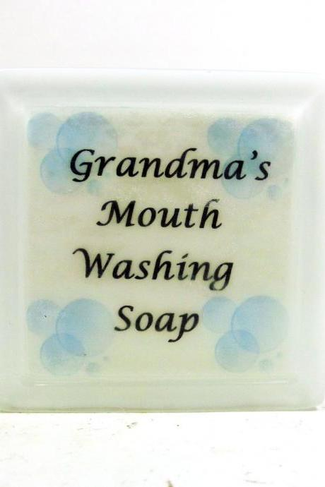 Grandma's Mouth Washing Soap - Gag Gift