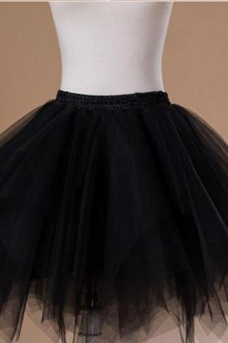 Optional color Women's Tutu Petticoat Skirt Prom Evening Occasion Accessory