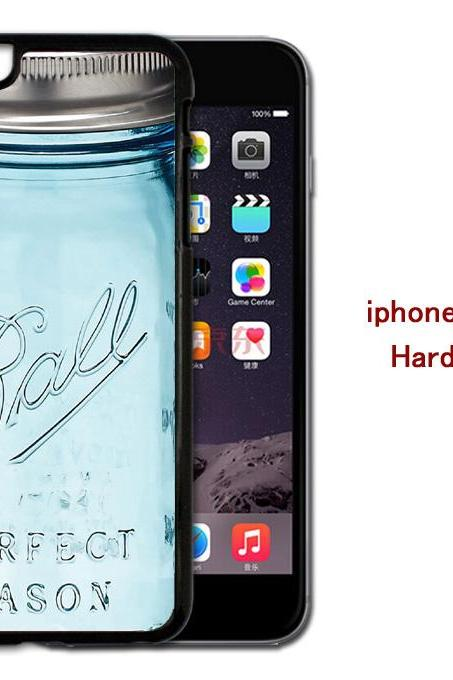 Ball Mason Jar Hard case cover for iPhone 4/4s/5/5s/6/6plus case Samsung Galaxy S3/S4 /S5 Note2/3/4 Case