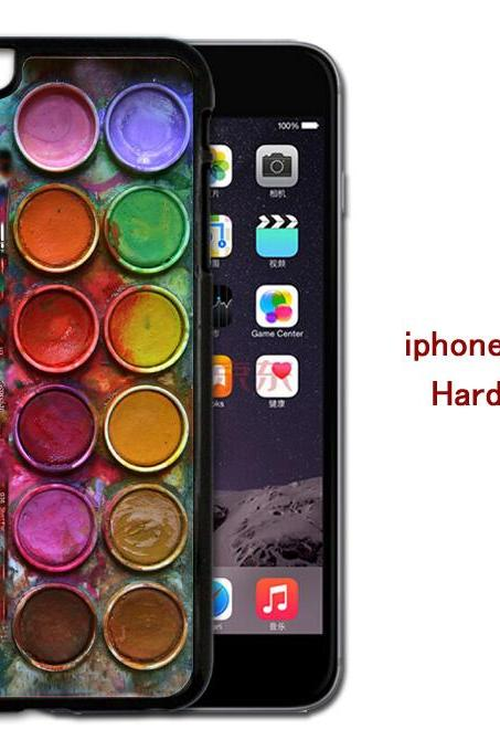 Watercolor set Hard case cover for iPhone 4/4s/5/5s/6/6plus case Samsung Galaxy S3/S4 /S5 Note2/3/4 Case