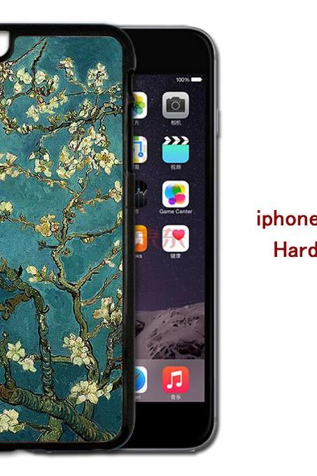 Apricot blossom in full bloom Hard case cover for iPhone 4/4s/5/5s/6/6plus case Samsung Galaxy S3/S4 /S5 Note2/3/4 Case