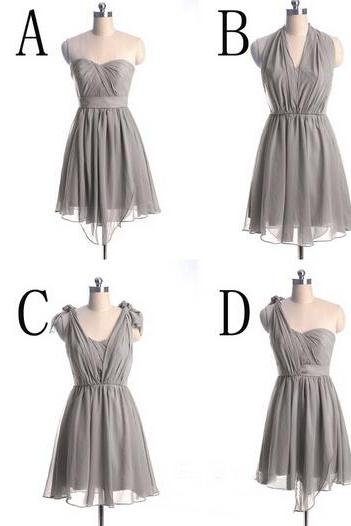 Short Bridesmaid Dresses, Mismatched Bridesmaid Dress, Junior Bridesmaid Dress, Cheap Bridesmaid Dresses, Bridesmaid Dresses For Girls, Dresses For Weddings