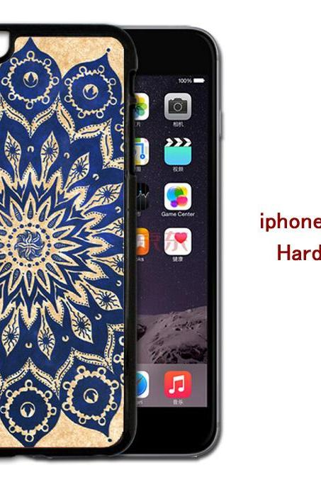 Mandala Hard case cover for iPhone 4/4s/5/5s/6/6plus case Samsung Galaxy S3/S4 /S5 Note2/3/4 Case