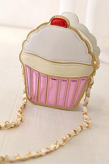 Cute Cake Shoulderbag
