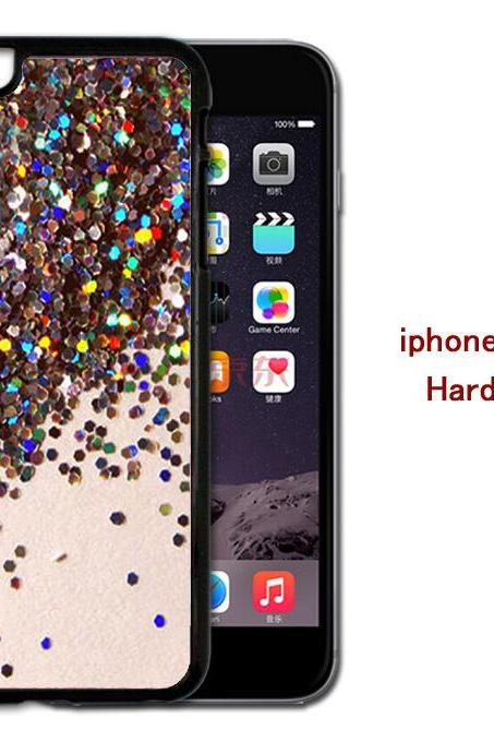 Glitter Hard case cover for iPhone 4/4s/5/5s/6/6plus case Samsung Galaxy S3/S4 /S5 Note2/3/4 Case