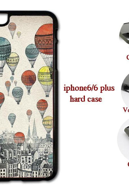 Hot Air Balloon Hard case cover for iPhone 4/4s/5/5s/6/6plus case Samsung Galaxy S3/S4 /S5 Note2/3/4 Case