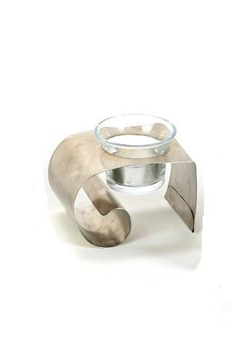 Stainless Steel Single Candle Holder