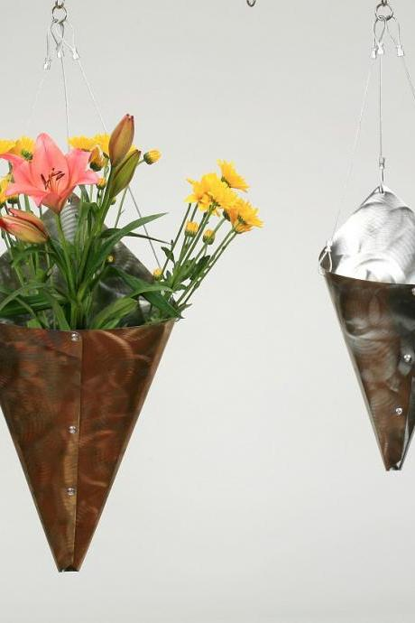 Stainless Steel Large Wrap Vase