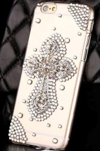 Cross bling Phone 7 Plus, iPhone 6 6s case, iPhone 6 6s Plus case, iPhone 5s SE case, iPhone 5c case, bling wallet case for samsung galaxy note 4 note 5 s7 edge s6 edge s5