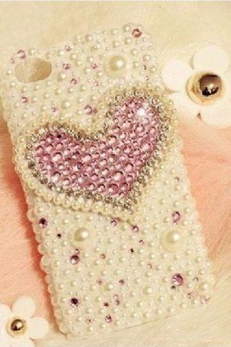 Heart Bling iPhone 7 Plus, iPhone 6 6s case, iPhone 6 6s Plus case, iPhone 5s SE case, iPhone 5c case, bling wallet case for samsung galaxy note 4 note 5 s7 edge s6 edge s5