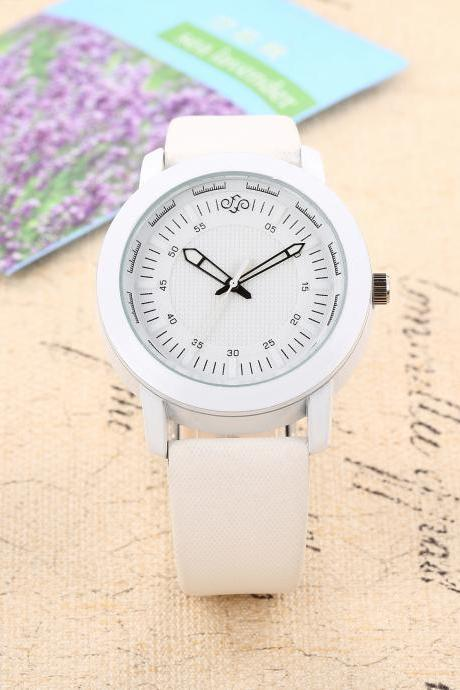 Simple watch, style watch, beige leather watch, leather watch, bracelet watch, vintage watch, retro watch, woman watch, lady watch, girl watch, unisex watch, AP00443