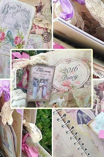 2016 Diary - Paris Vintage Tea Diary