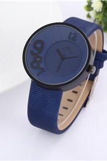 New leather watch, blue leather watch, bracelet watch, vintage watch, retro watch, woman watch, lady watch, girl watch, unisex watch, AP00499
