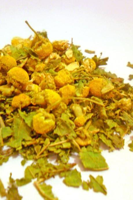 Minty Chamomile and Lemon Balm Organic Loose Leaf Tea