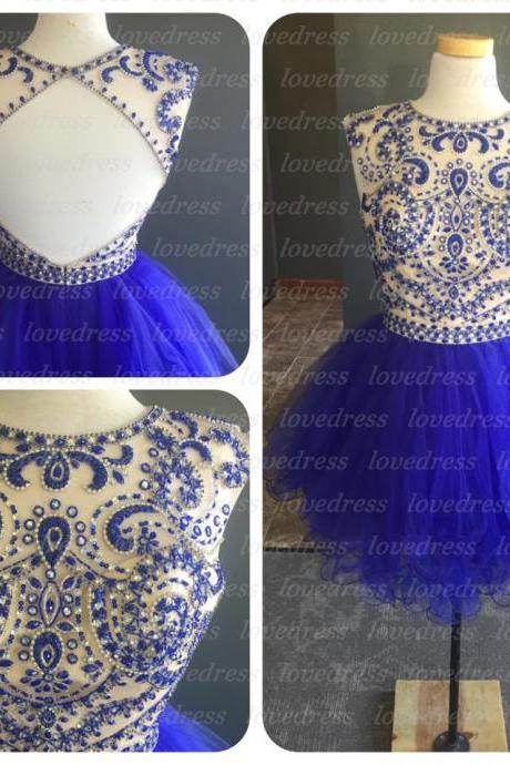 Blue sexy homecoming dresses, short homecoming dresses, cute homecoming dresses, cheap homecoming dresses, prom dress online, CM600