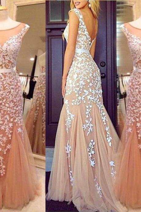 Champagne Prom Dresses & Gowns - Luulla