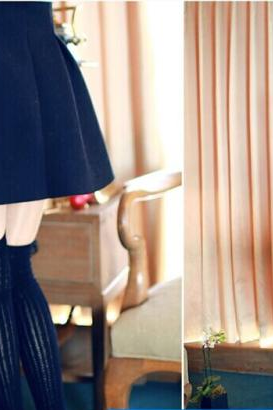 High Quality And Lovely Skirt For Autumn Or Winter, Burgundy Skirt, Blue Cute Skirt, Black Skirts