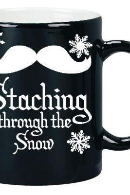 Staching through the Snow Vinyl Decals