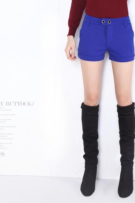 2015 Women Fall Short Pants Chic Hot Boots Pants