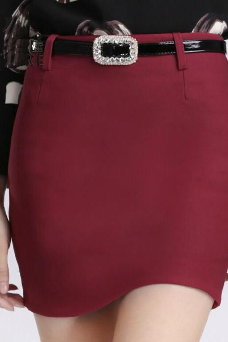 2015 Mini Skirt For Ladies Sexy Stretch One Pace Skirt